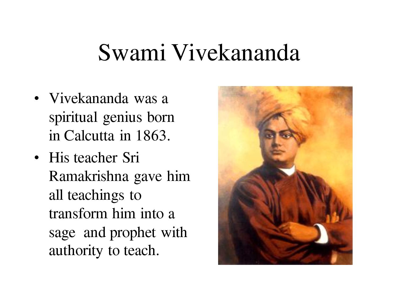 Vivekananda Essay