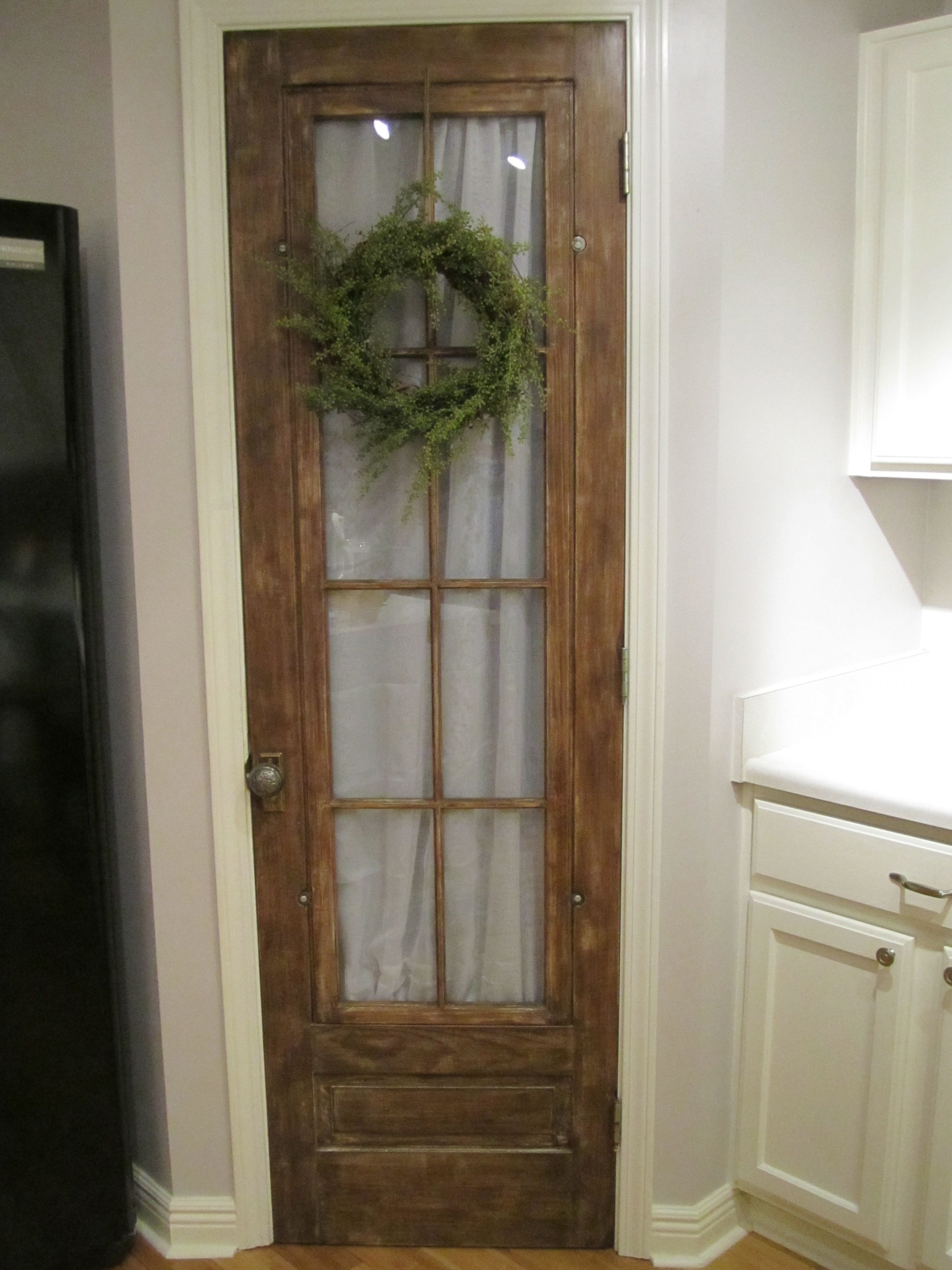 Old Door Pantry New House Pinterest