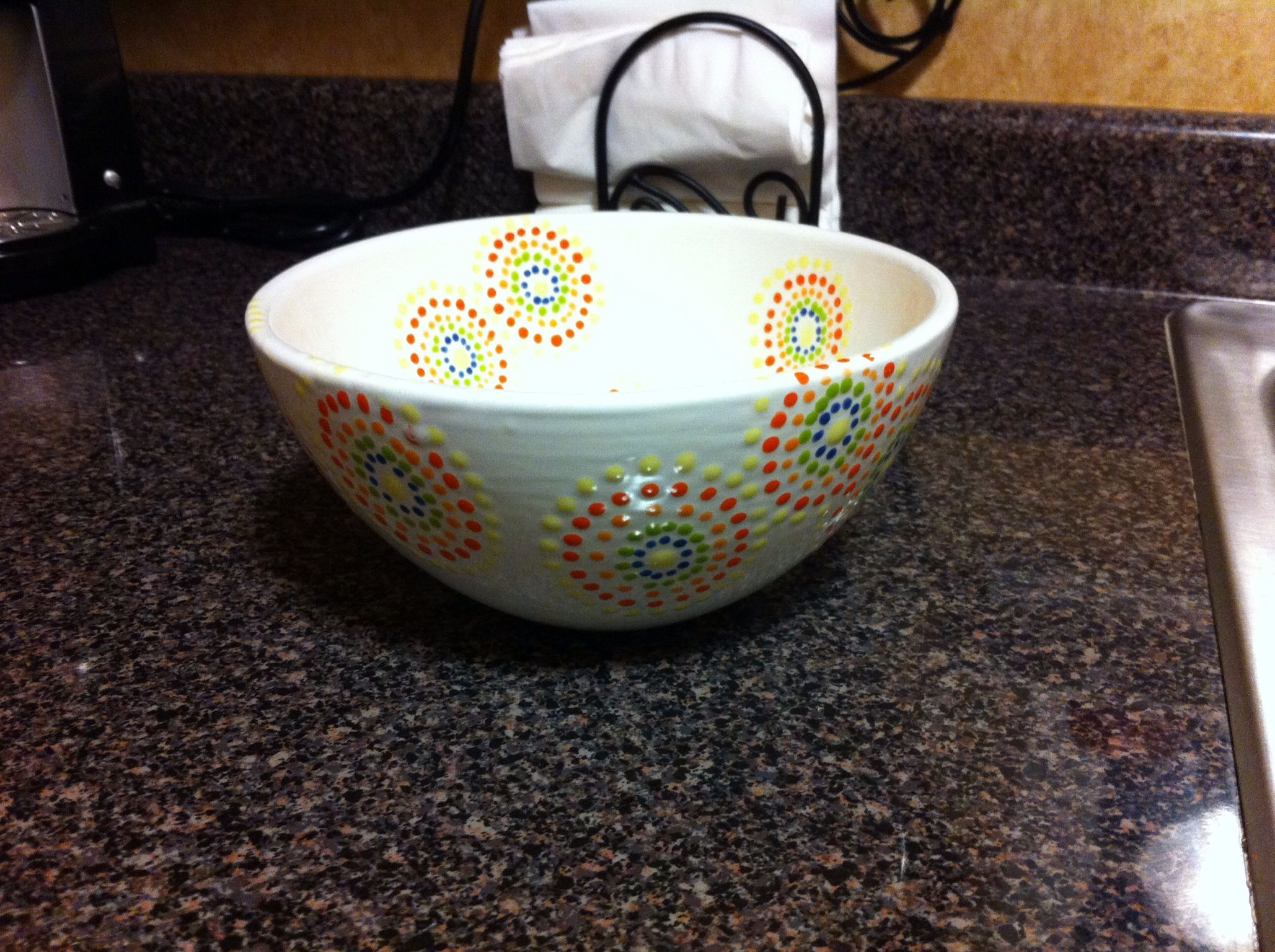 ceramic bowl painting ideas the image