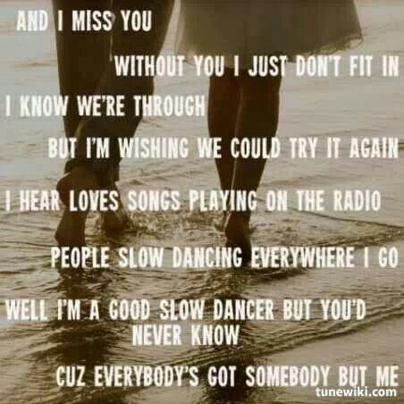 got somebody lyrics: