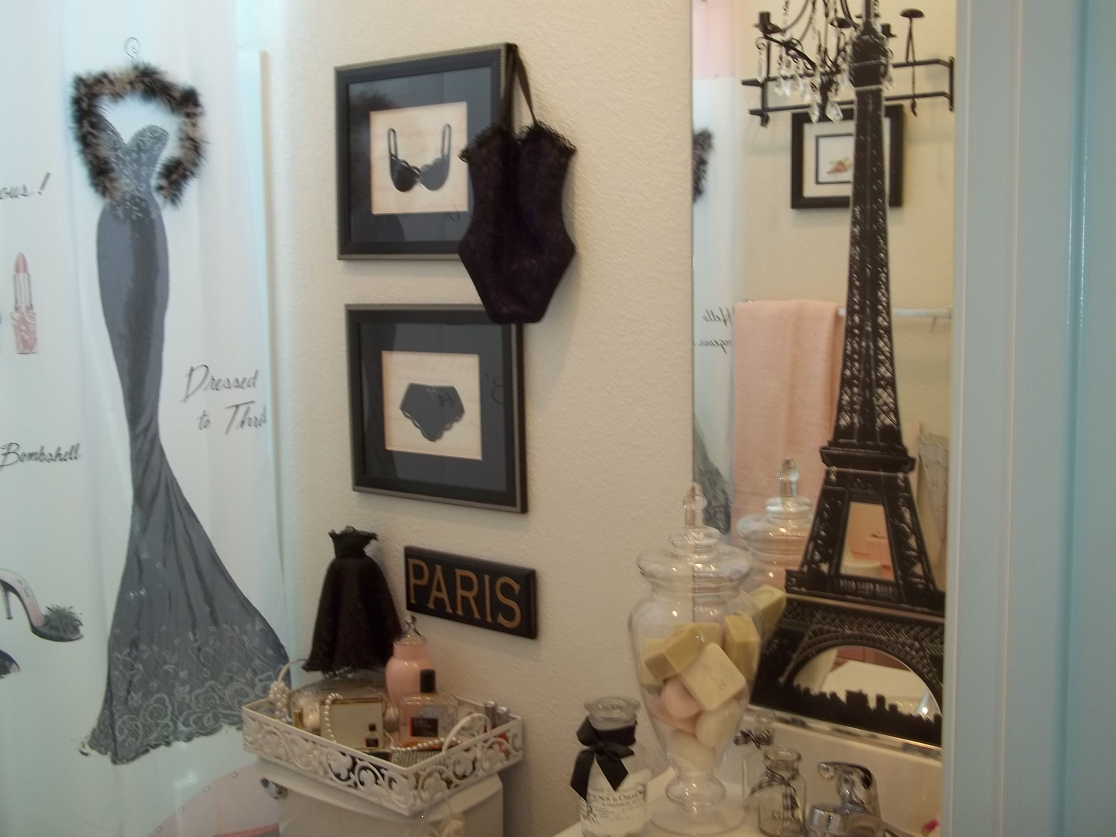 upstairs guest bath french theme for the home pinterest
