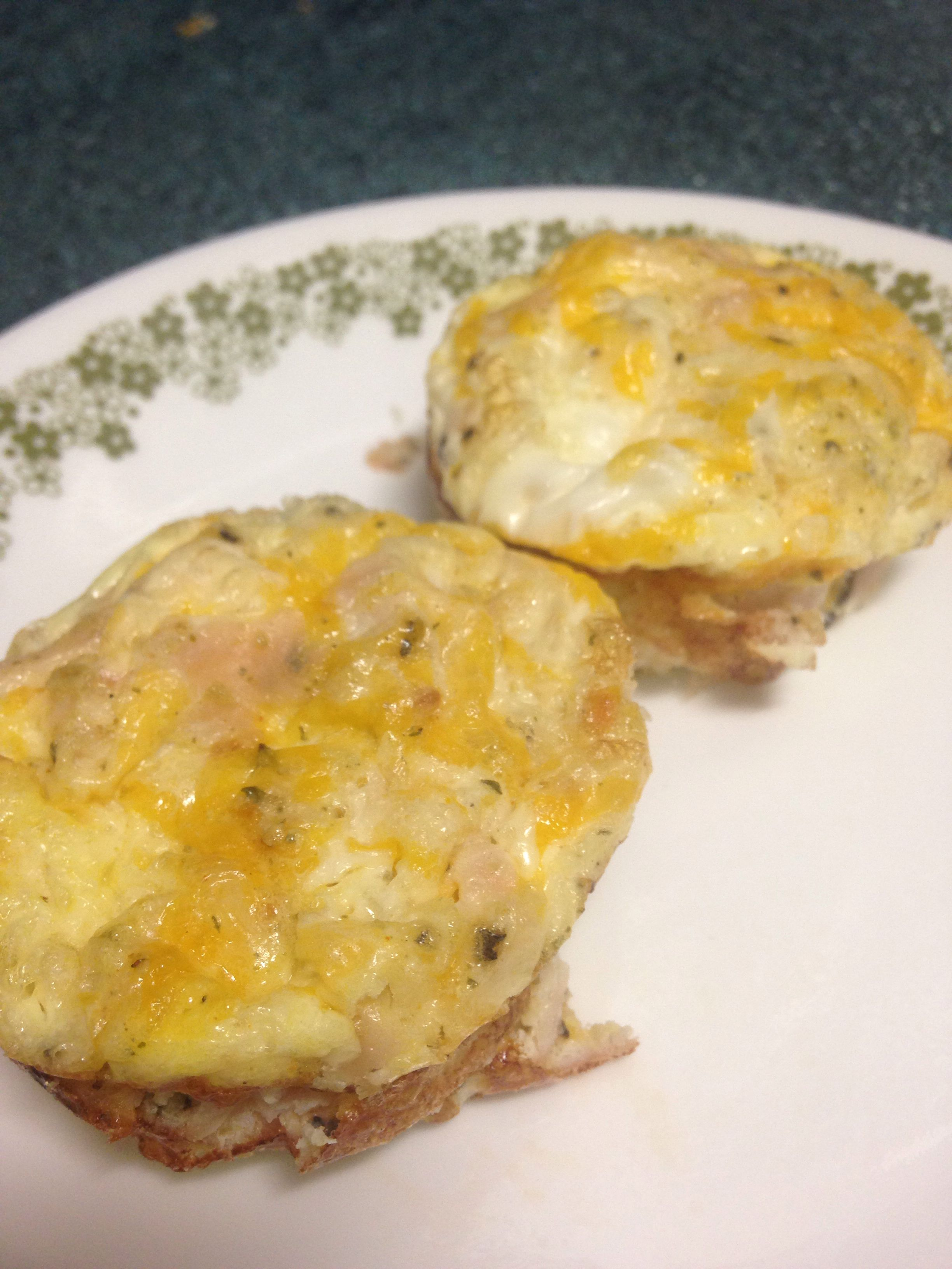 Quick Ham Cheese Fritata - Only 1 Weight Watchers Points Plus Point ...