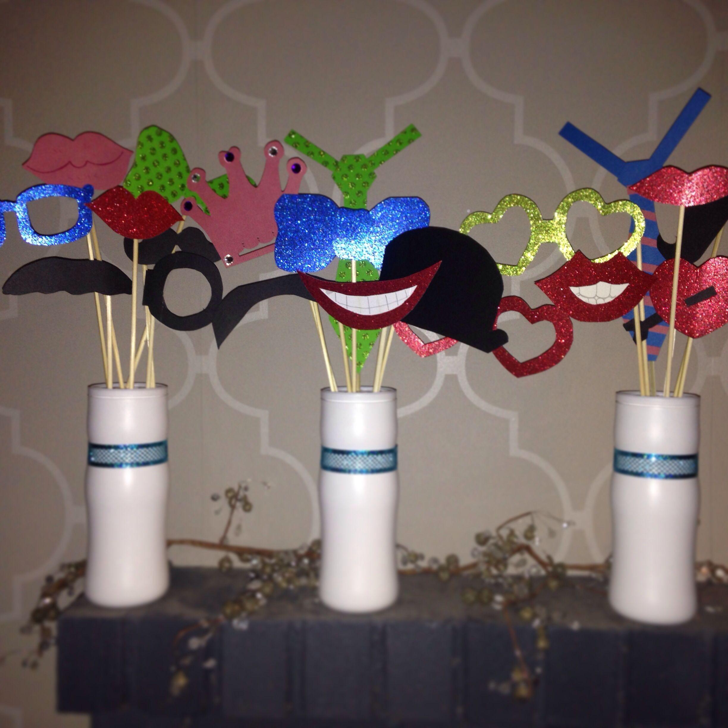 Photo Booth Props - DIY Props | cheer coach life. | Pinterest