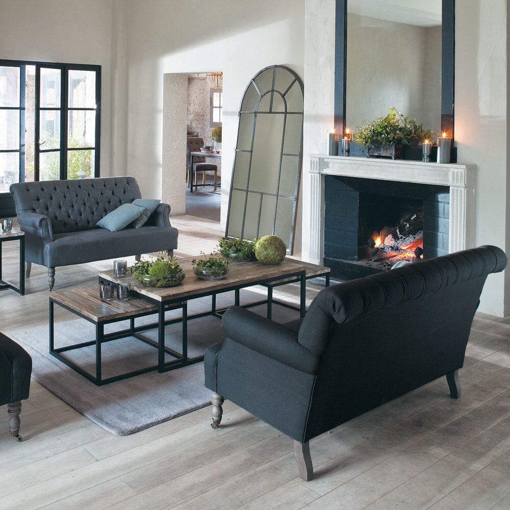 Table Basse Relevable La Redoute ~ Table Long Island  Maison Du Monde  Home Sweet Home  Pinterest