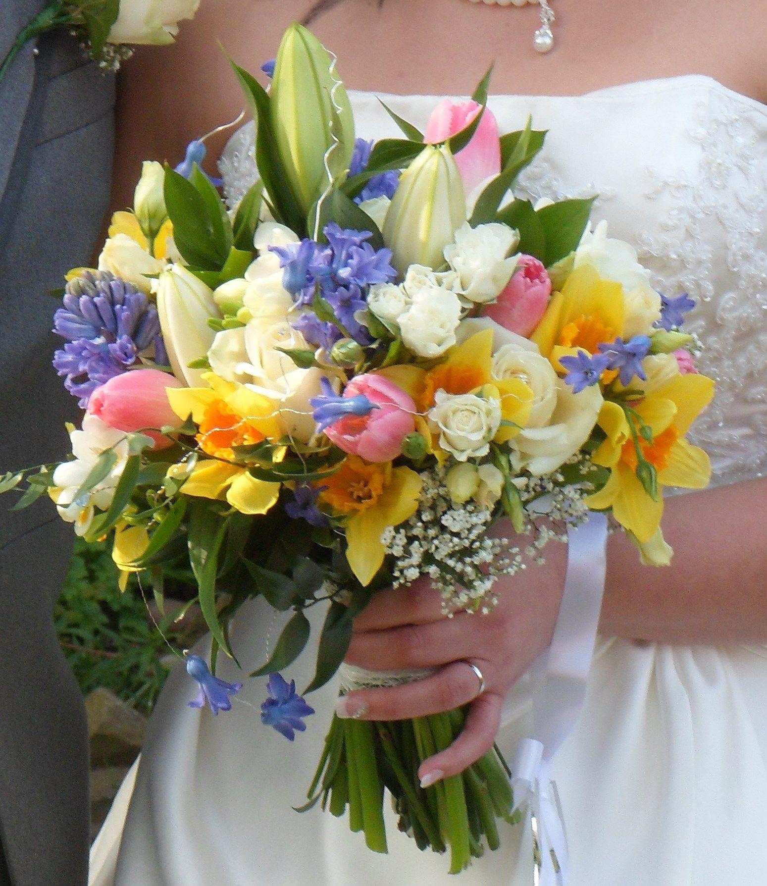 Spring wedding bouquet spring has sprung pinterest