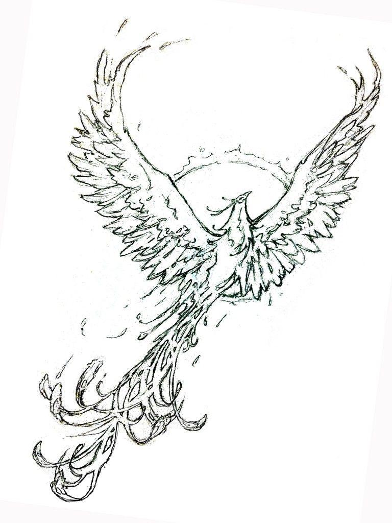 Phoenix-Design : Tattoos : Pinterest