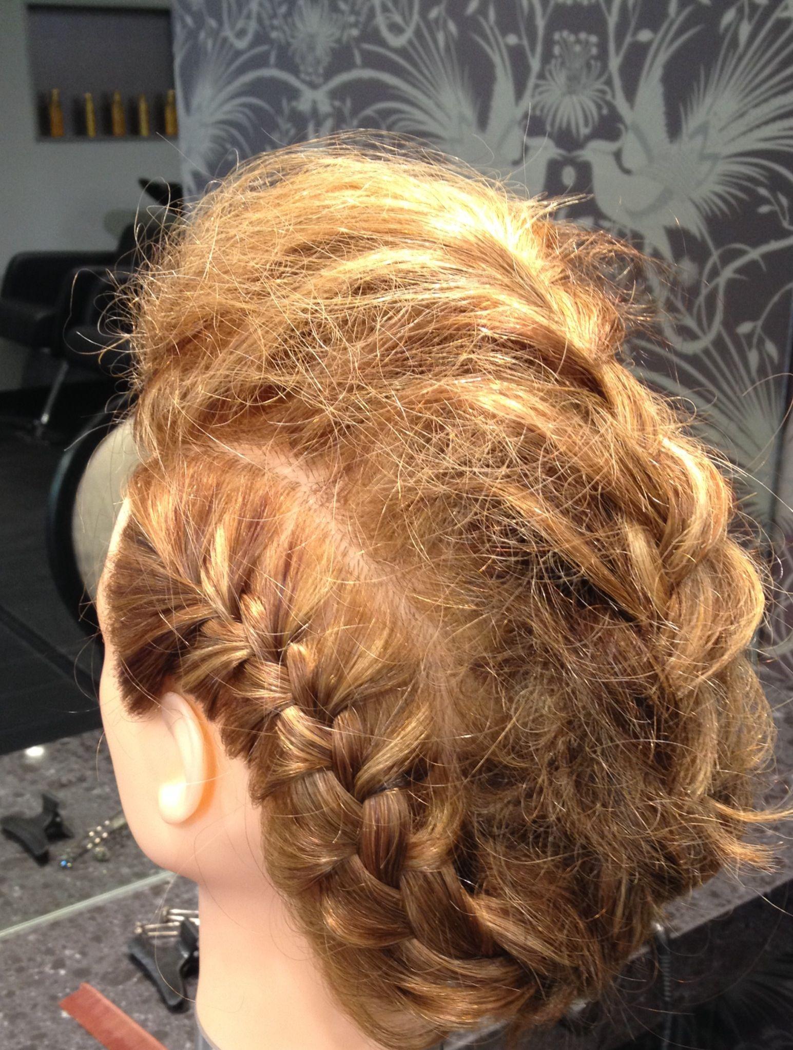 Mohawk braid! | RUBIA HAIR DESIGN | Pinterest