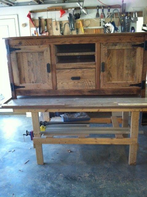 Tv Cabinet Old Barn Wood Furniture Pinterest
