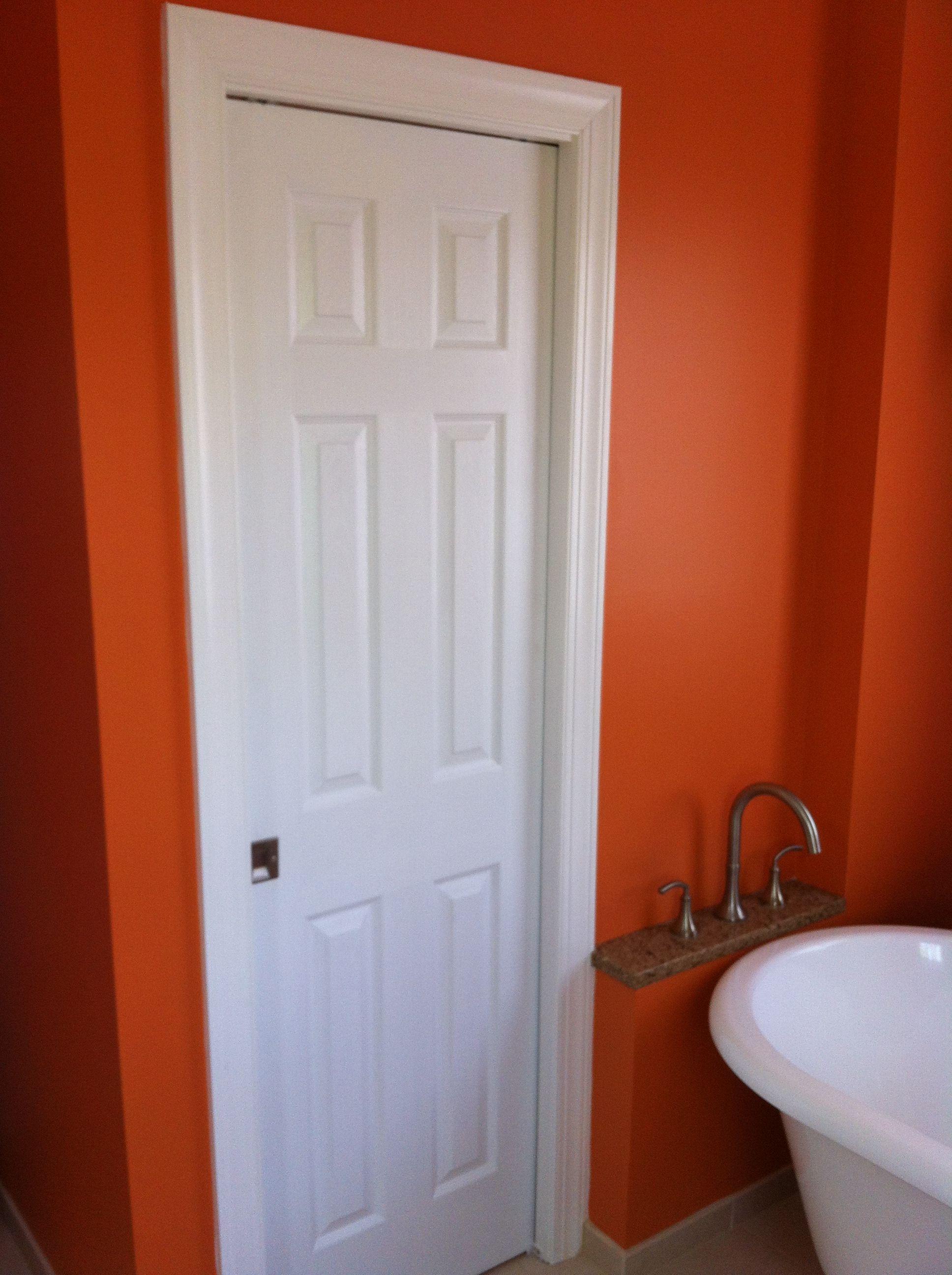 water closet pocket door for the home