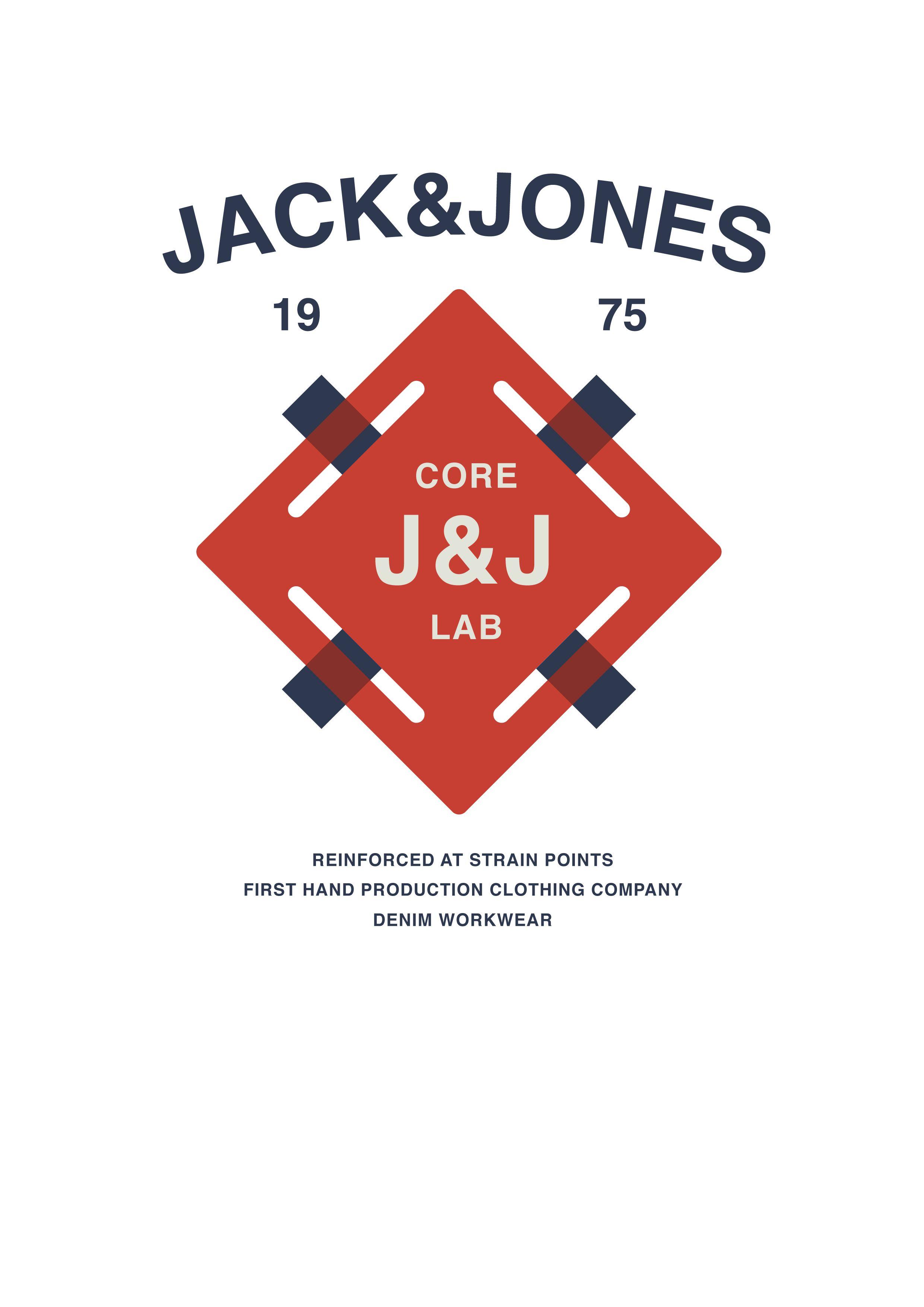 core by jack jones graphic tee logo unit pinterest. Black Bedroom Furniture Sets. Home Design Ideas
