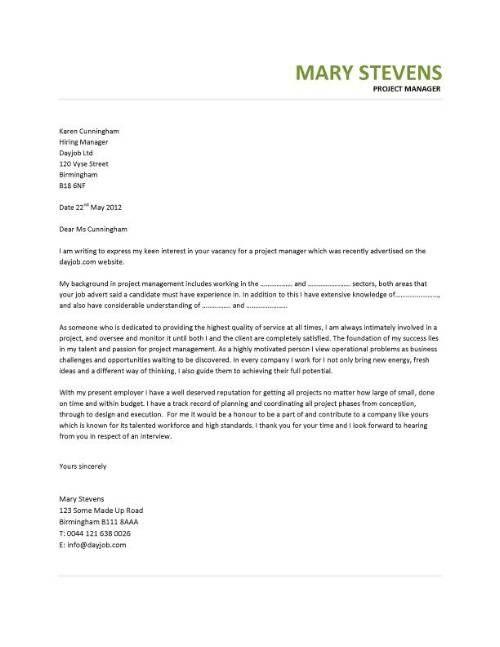 Production Manager Cover Letter - http://jobresumesample/911 ...