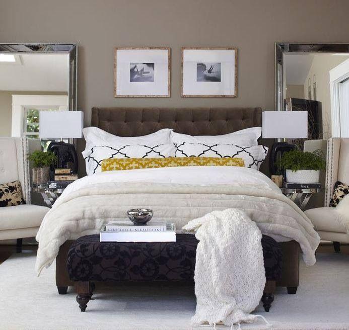 ottoman for the master bedroom home pinterest