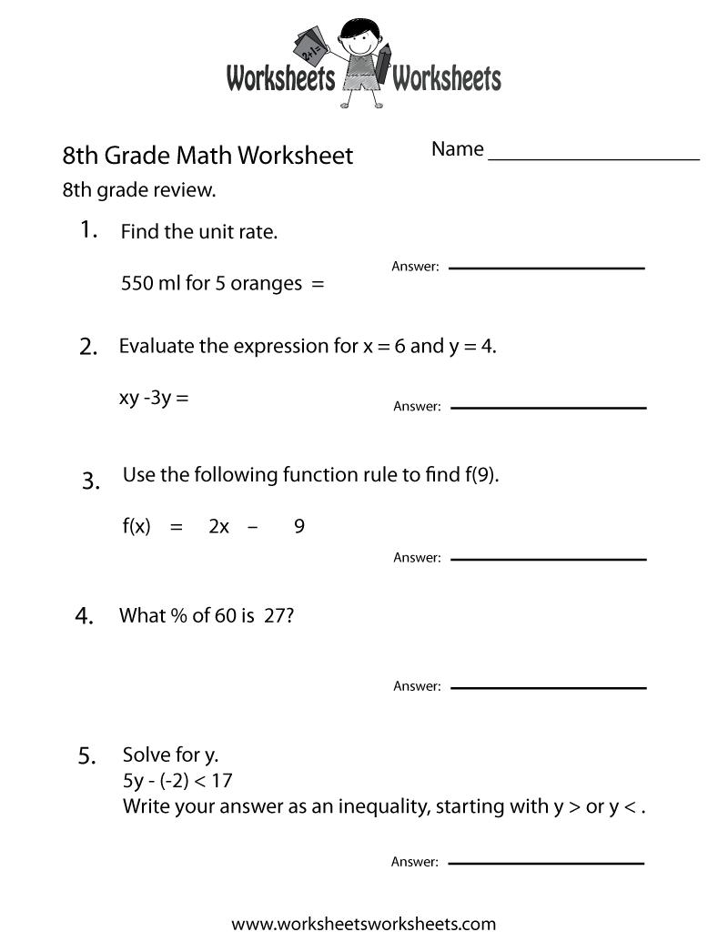worksheet Printable Teacher Worksheets free teacher worksheets 8th grade worksheet printable blog 2017 calendar