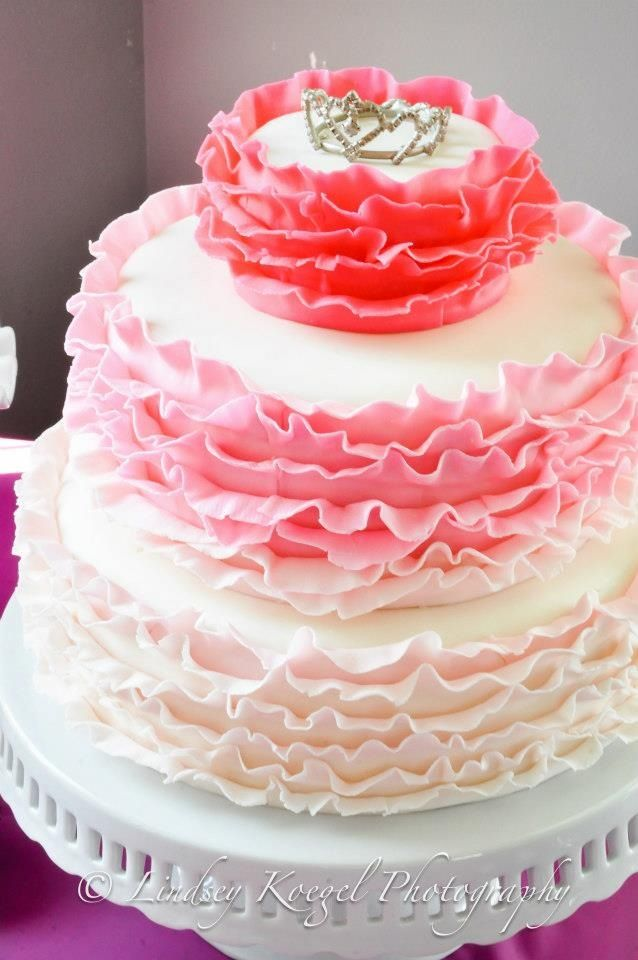 pink ombre cake how to cook that