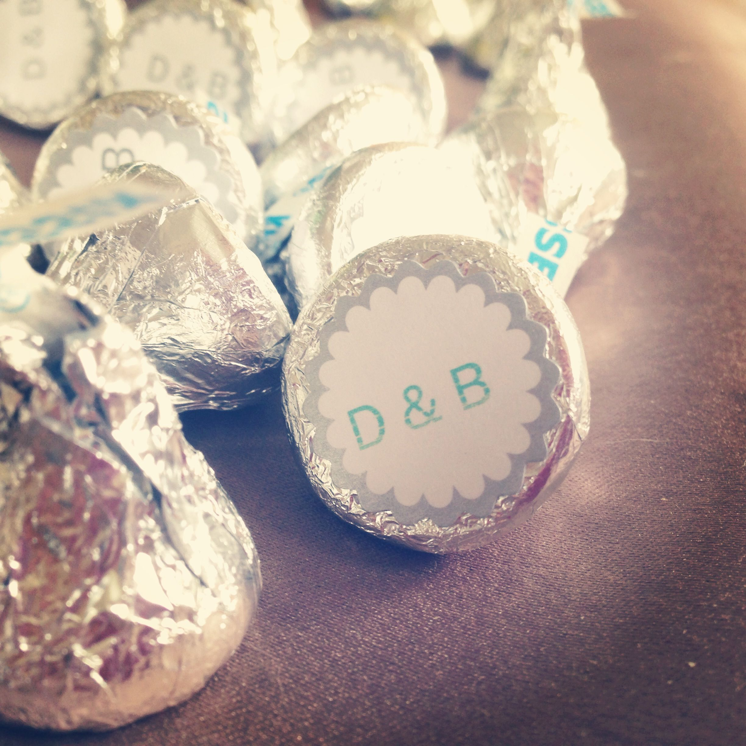 Hershey Kiss Favor For Wedding