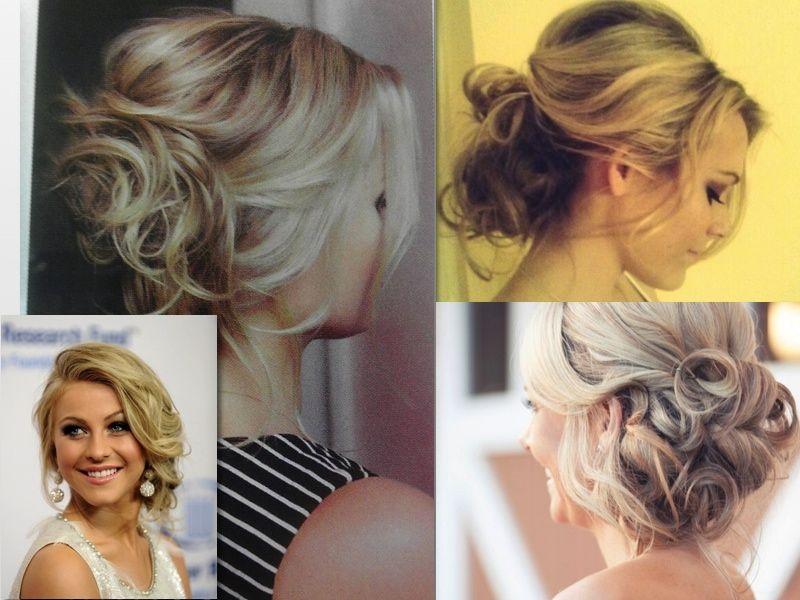 Причёска на свадьбу для гостей короткие волосы