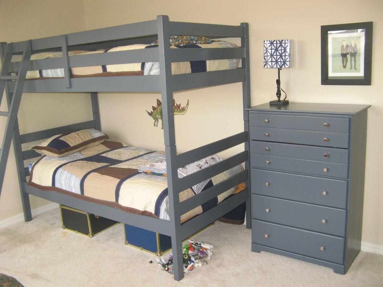 Boys bedroom painted furniture  Kids Rooms  Pinterest