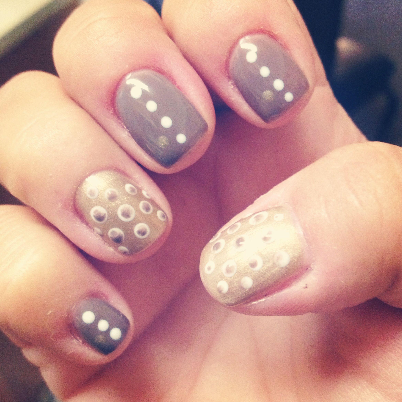DIY gel nail design | Nails nails nails!! | Pinterest