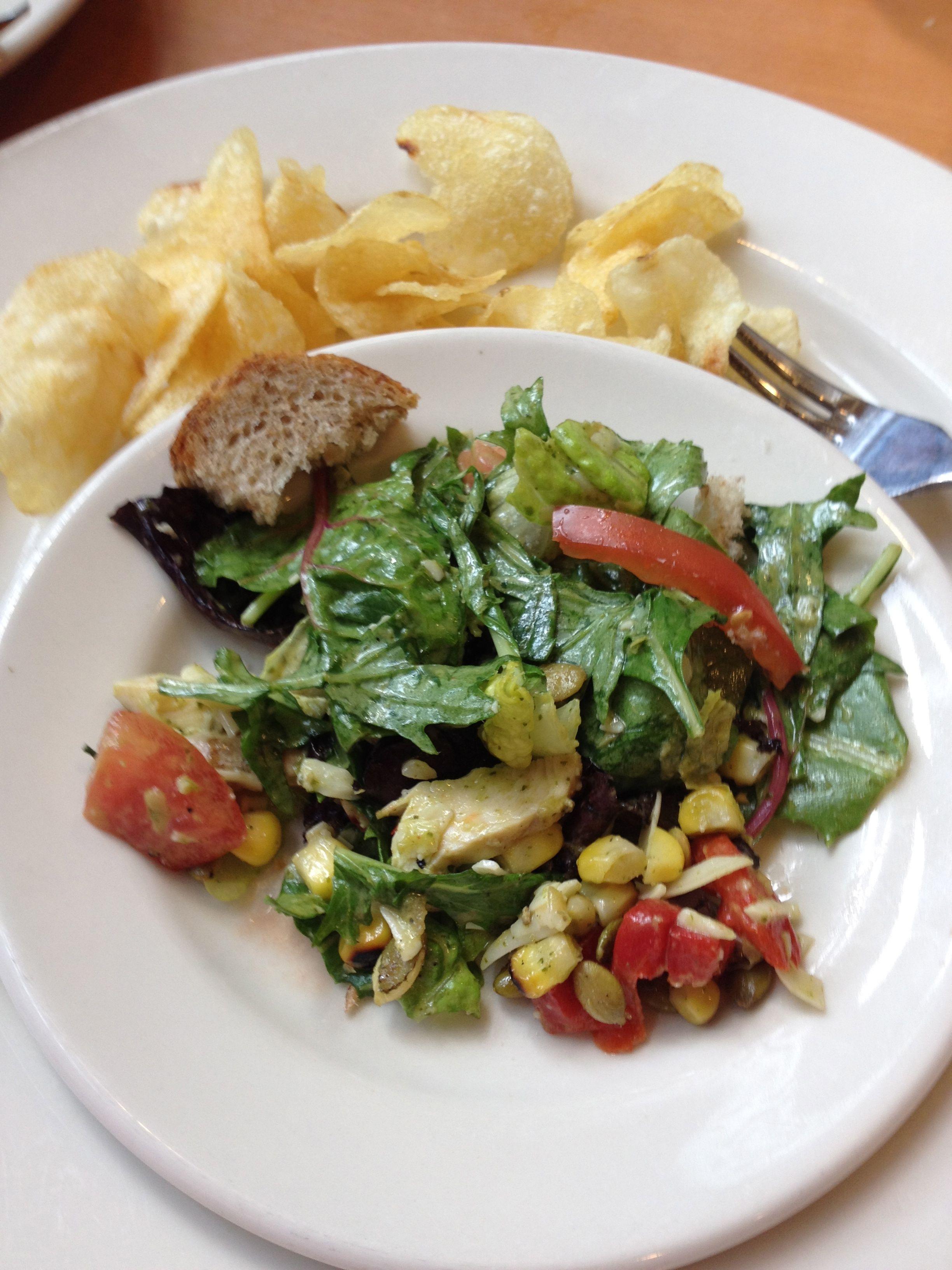lime cilantro chicken salad. | Food & Drink | Pinterest