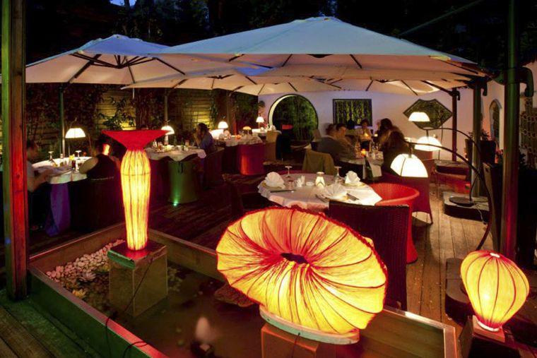 Terraza del restaurante chino El Bund (Arturo Soria) - Madrid