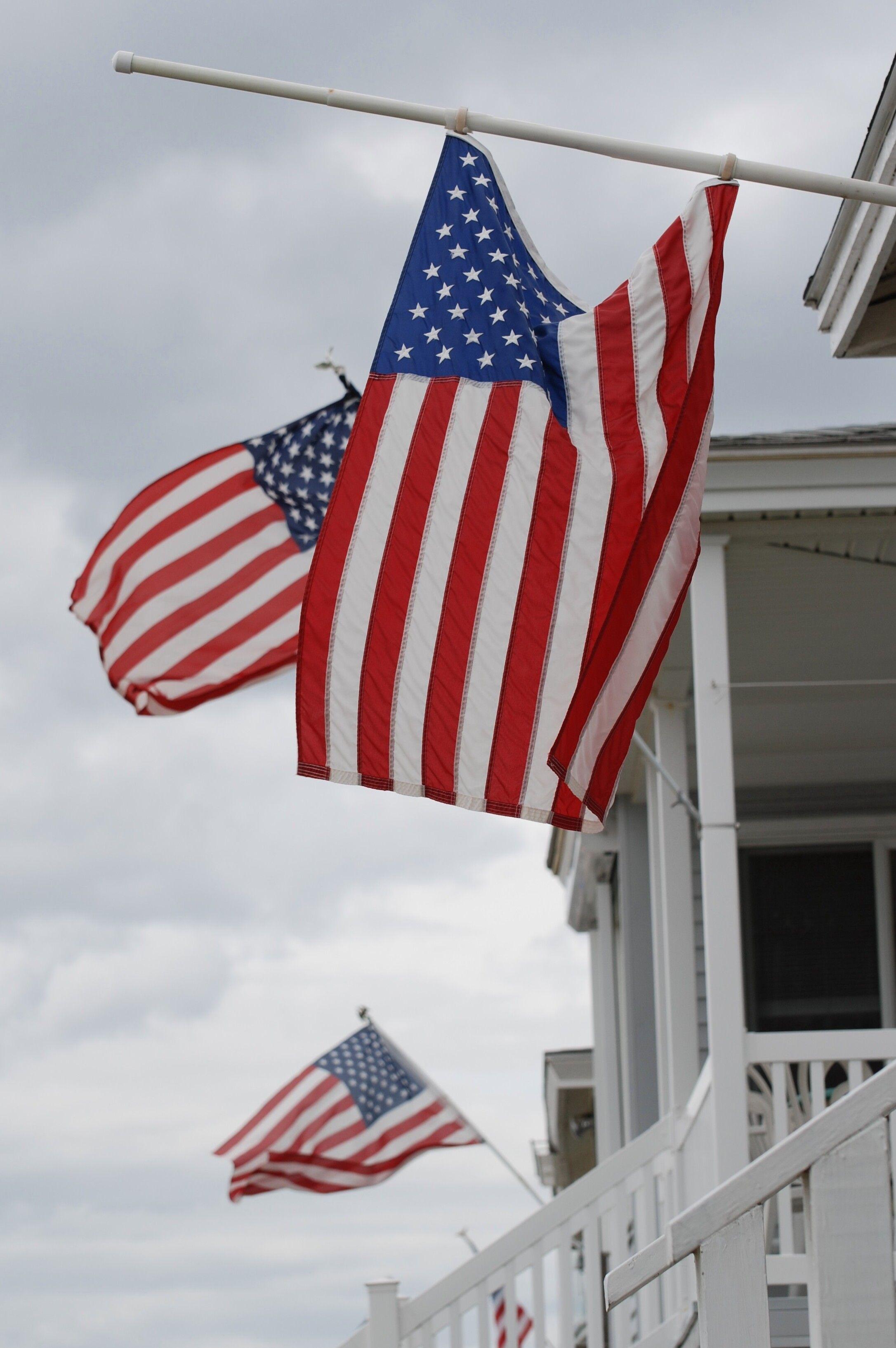 american flags photos