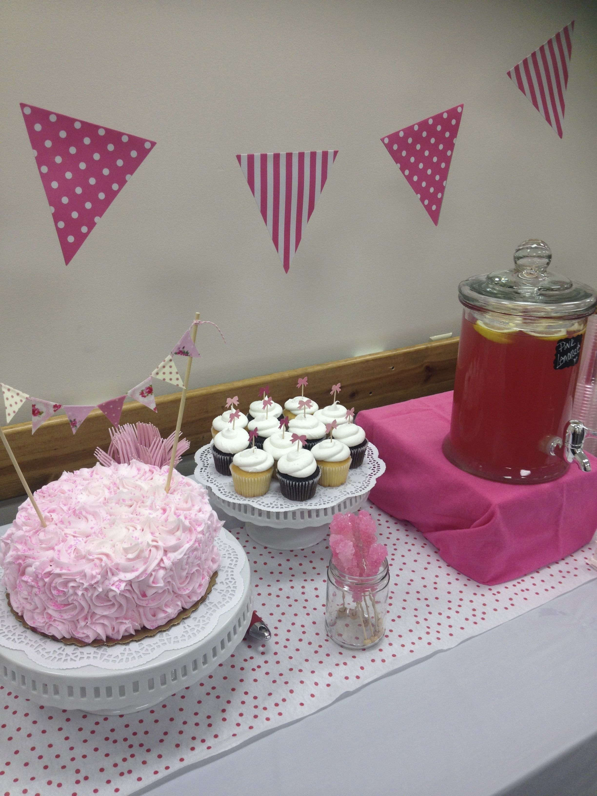 baby shower dessert table party pieces pinterest