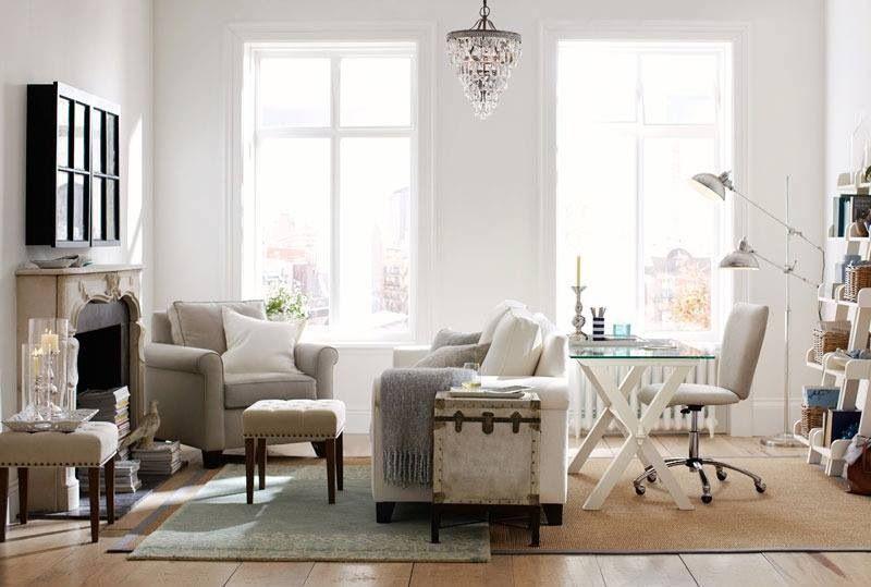 Pottery Barn Living Room Love Home Decor Pinterest