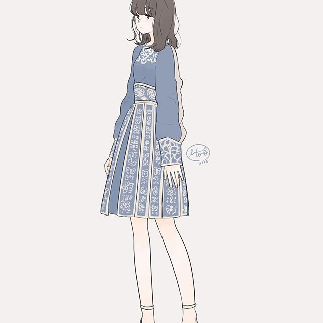 乃木坂46 衣装 イラスト