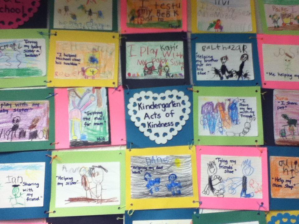 Quilt Patterns For Kindergarten : Kindergarten Acts of Kindness Quilt Classroom Pictures Kinders Pi?