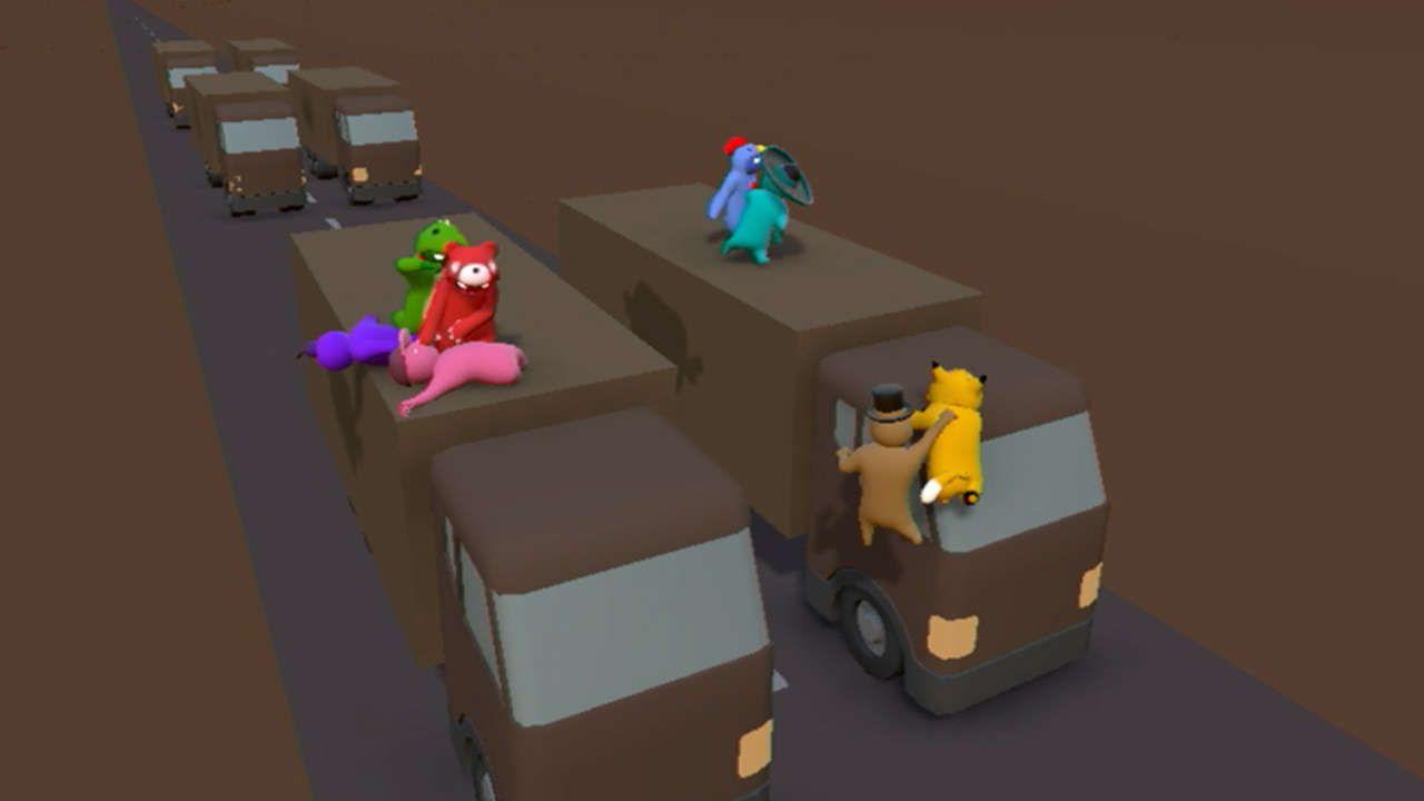 Почему не находит сервера в gang beasts