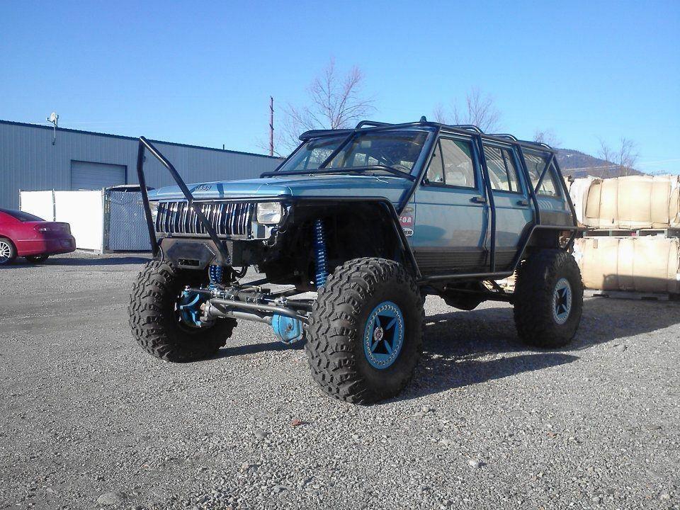 Xj Rock Crawler : Jeep cherokee xj with dana solid axle axles car