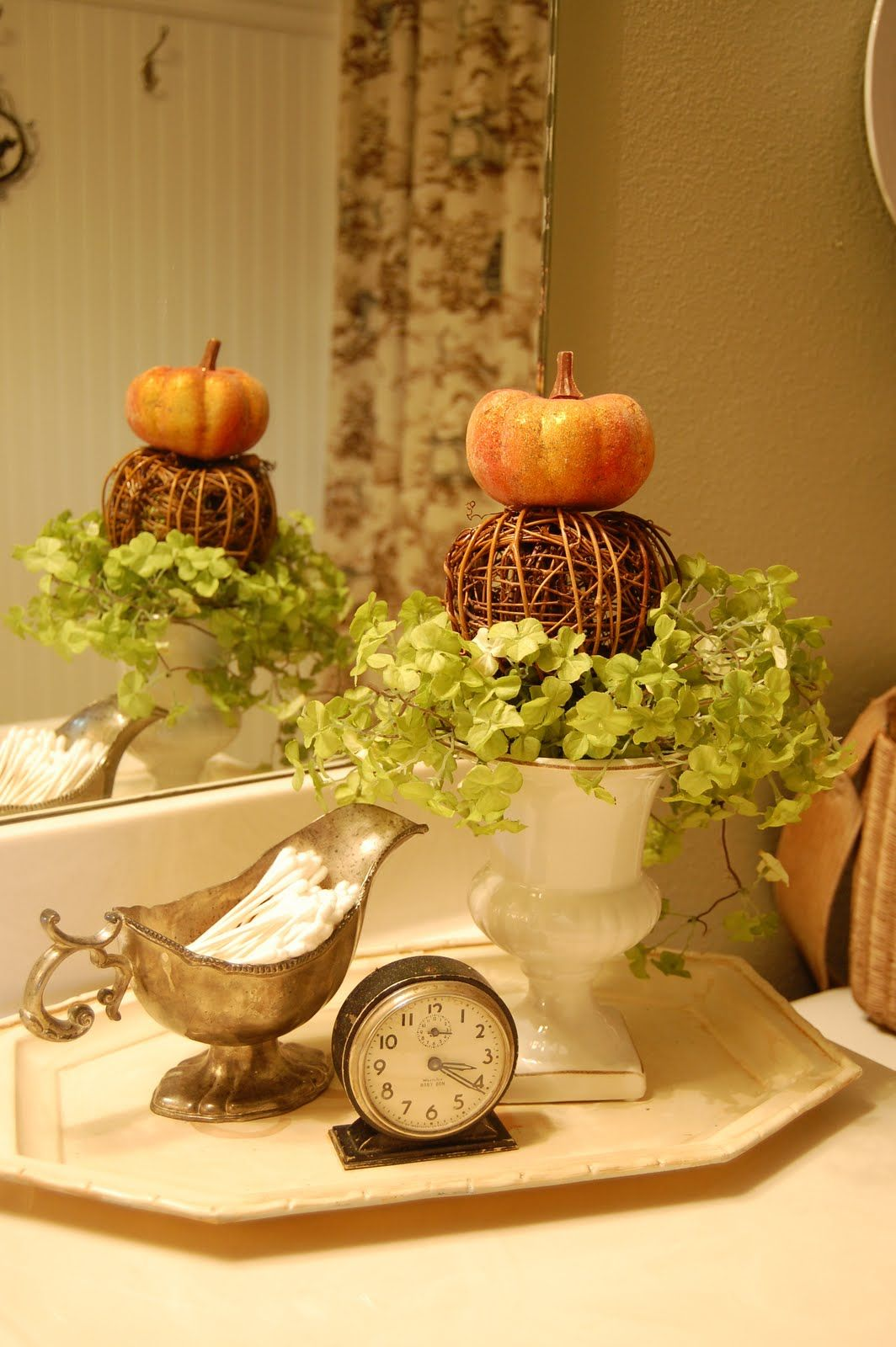 Decorating Your Bathroom For Fall : Cute fall decor for the bathroom happy yall