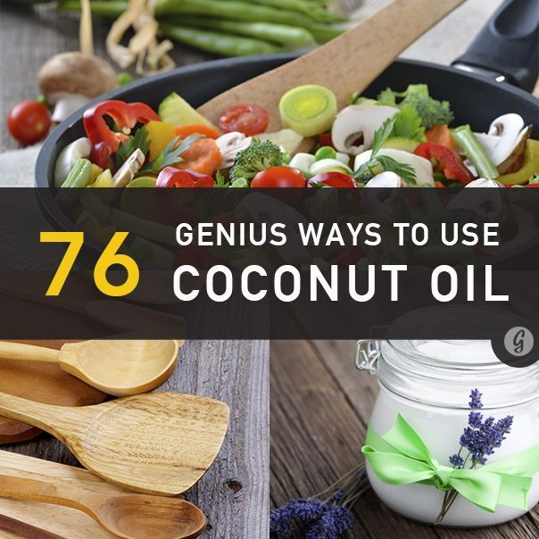 Coconut Oil Benefits: 76 Genius Coconut Oil Uses for Everyday Life