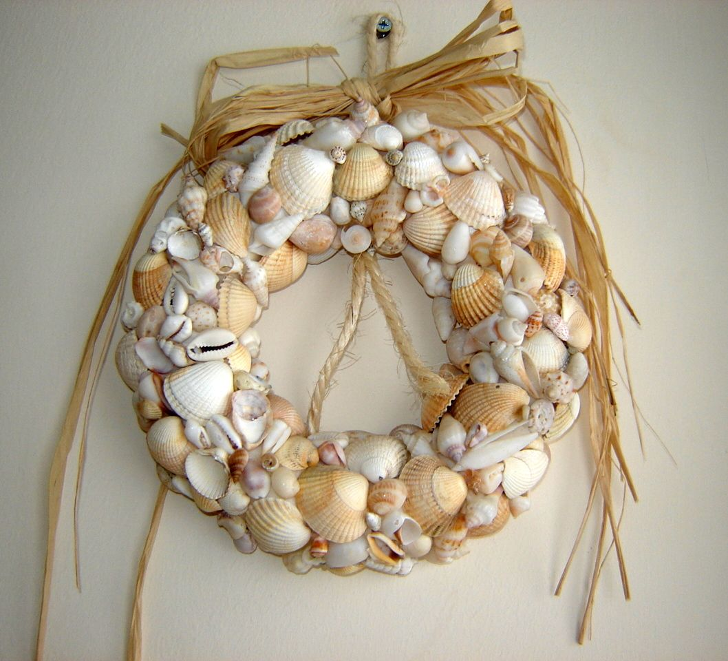 Pin by oh my craft on handmade by me pinterest for Seashell ornaments craft