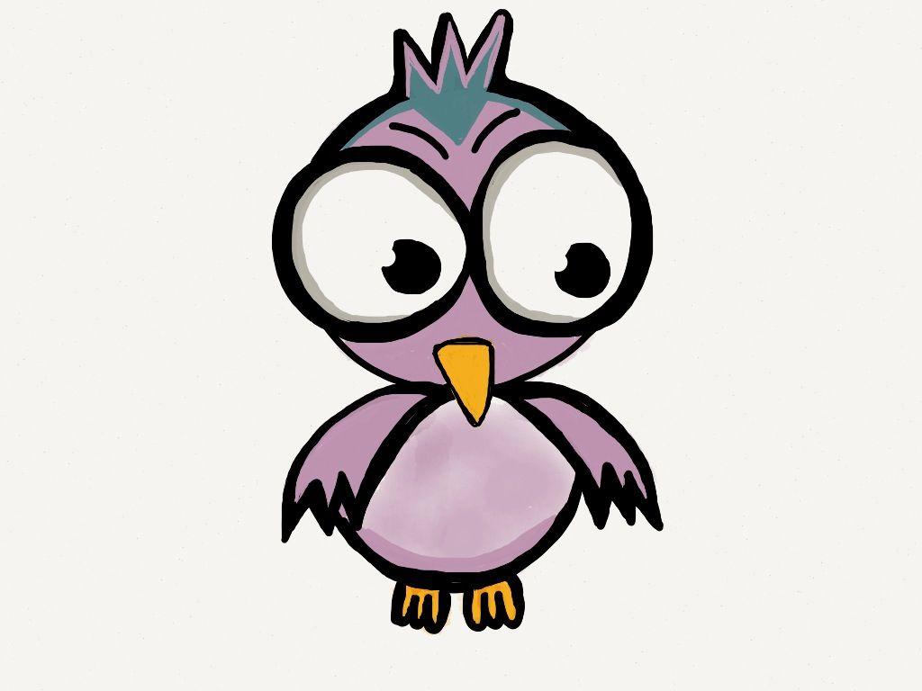 Cute Bird | Draw | Pinterest