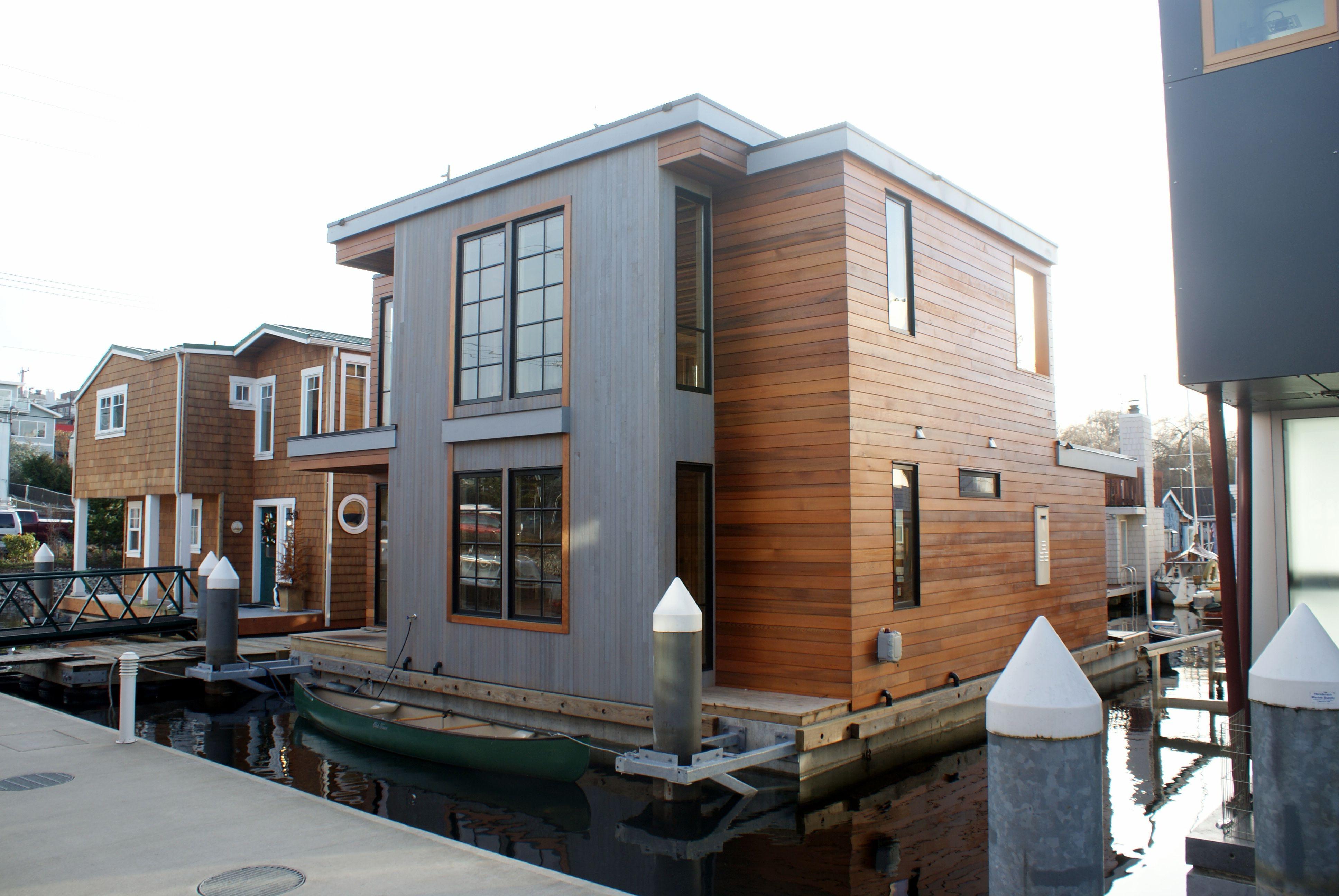 Float home lake union seattle floating houses pinterest - Floating house seattle ...