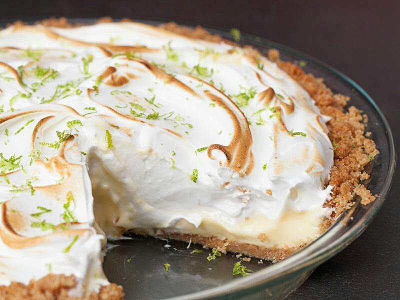 Key Lime Pie with Lime Meringue | Dessert Recipes | Pinterest