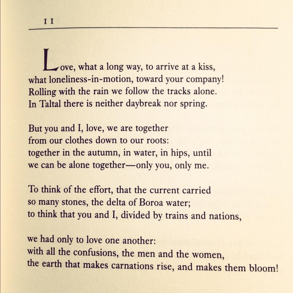 Pablo Neruda poems love