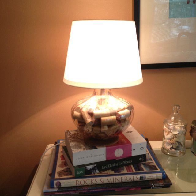 Salt Lamps Cork : Wine cork lamp Martha Stewart-y Crafts Pinterest