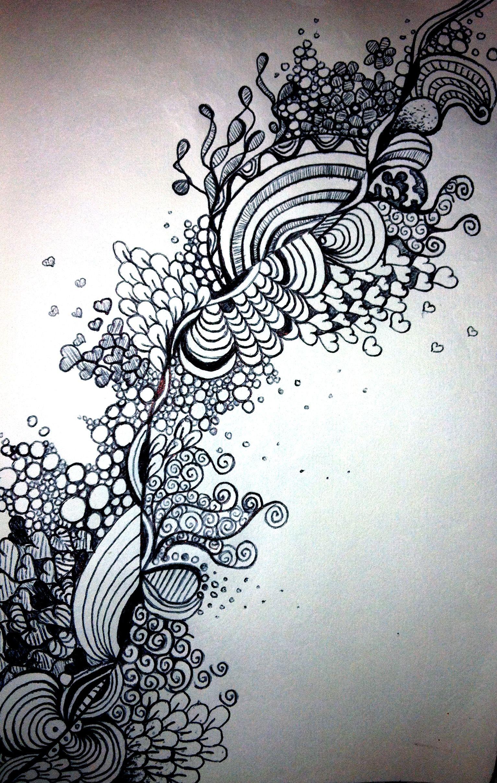 Oh how i love sharpie art doodles pinterest for Designs for doodle art