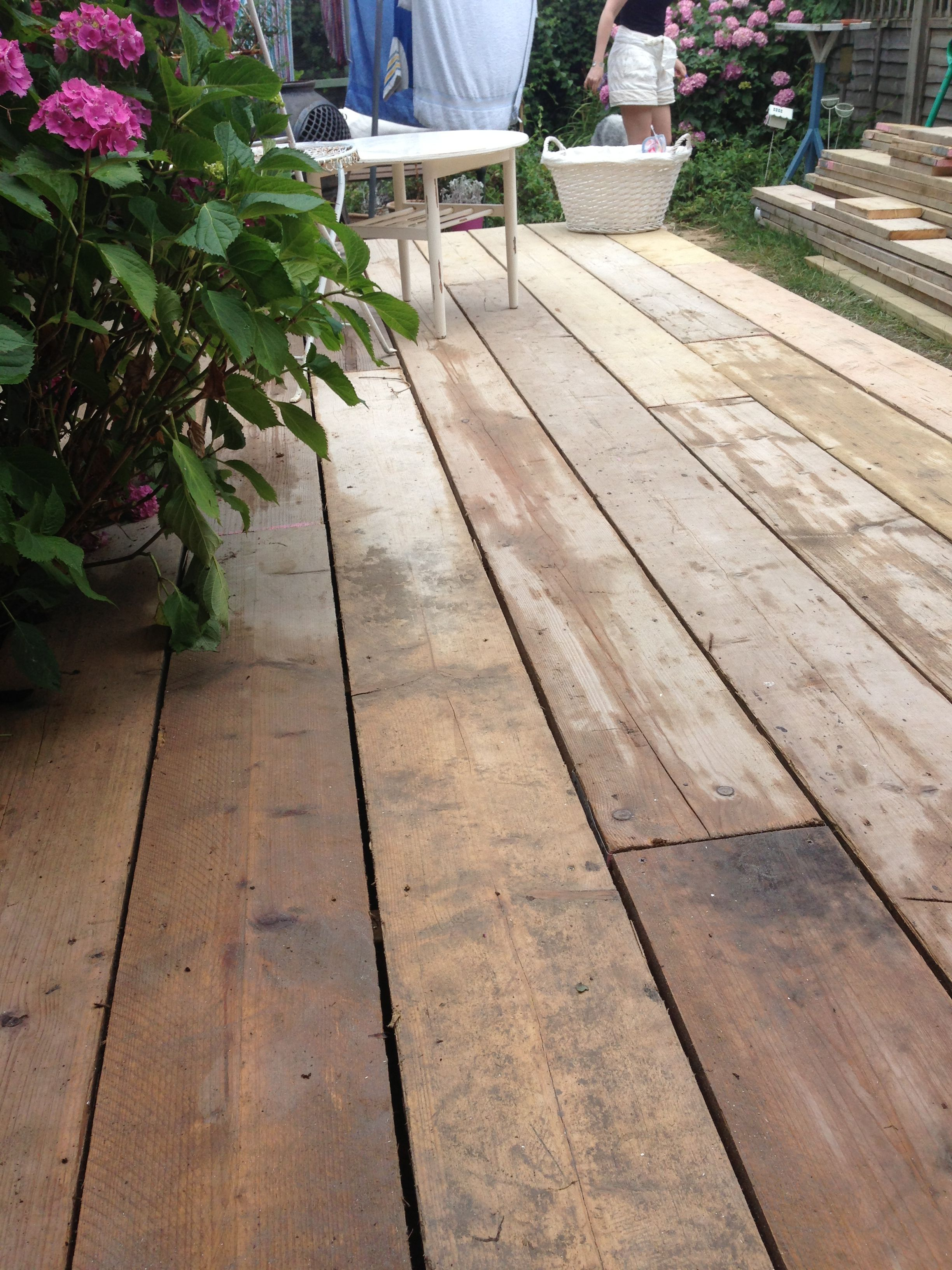 Share for Reclaimed decking boards
