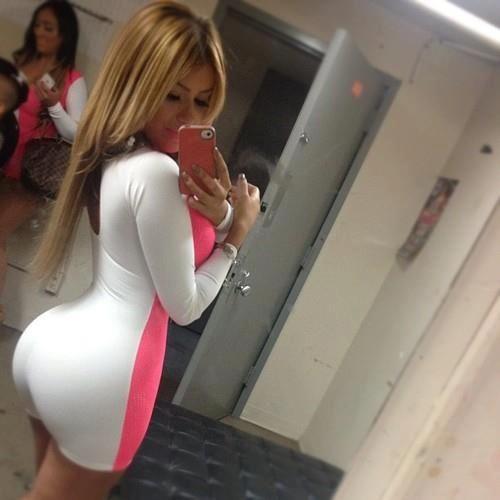 New The Big Ass Girl  Classy Milf Pantyhose High Heels Dress Big Booty
