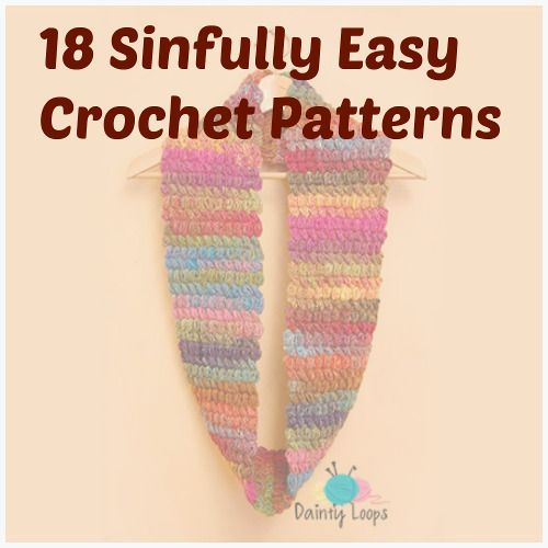 Crochet Stitches Easy Projects : Share