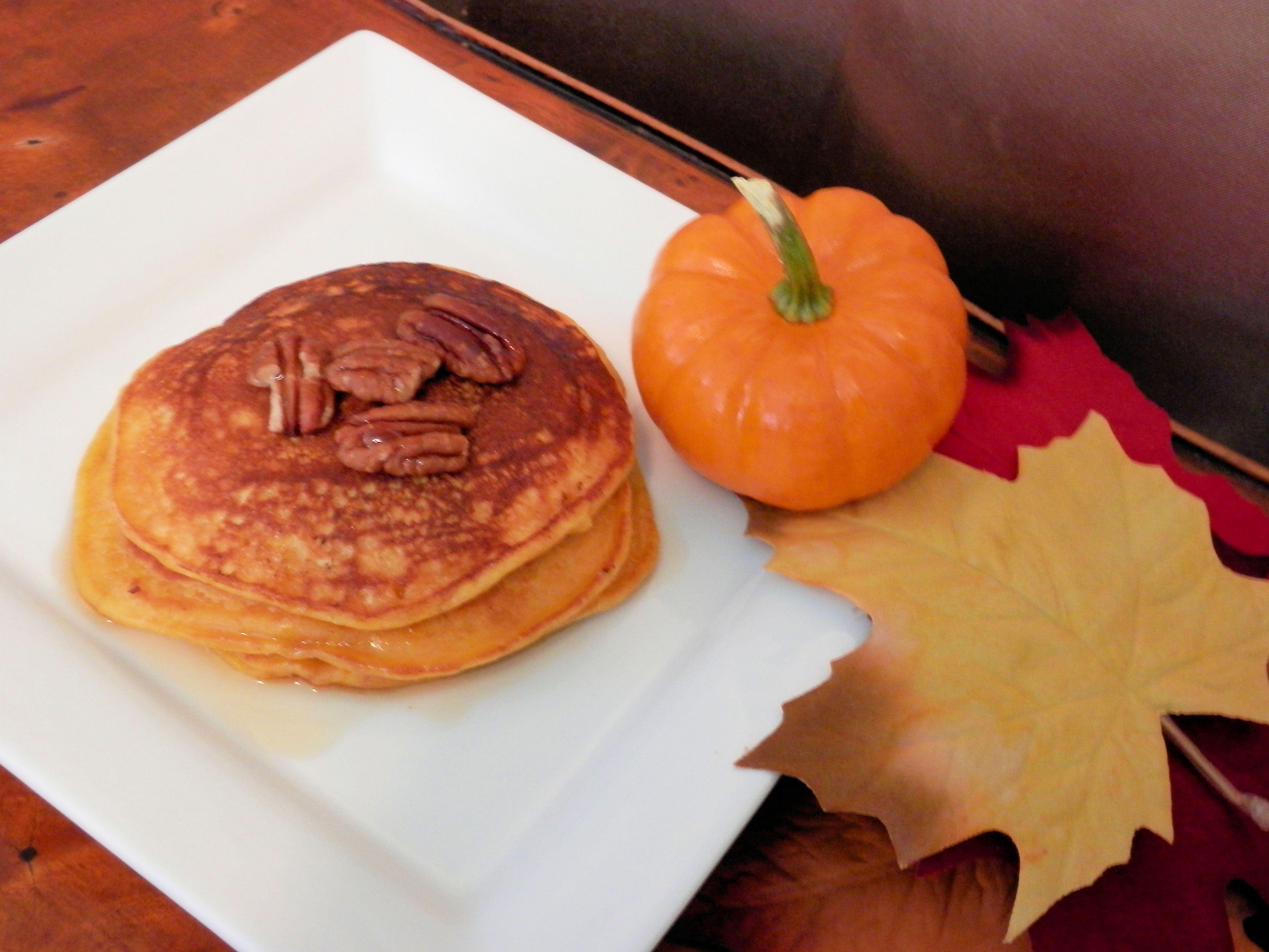 Pumpkin Pecan Pancakes | Italian Cuisine | Pinterest