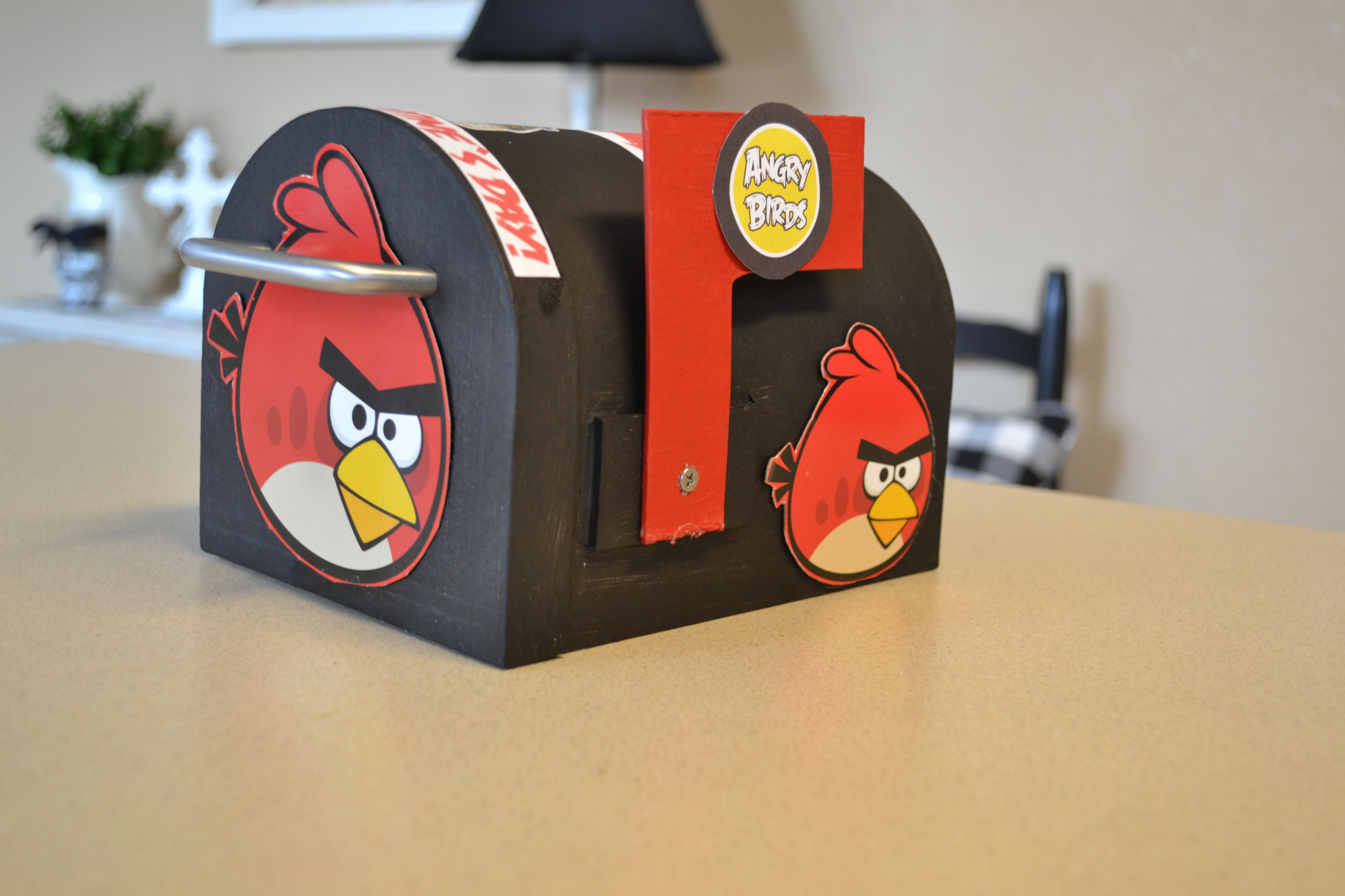 valentine box angry bird