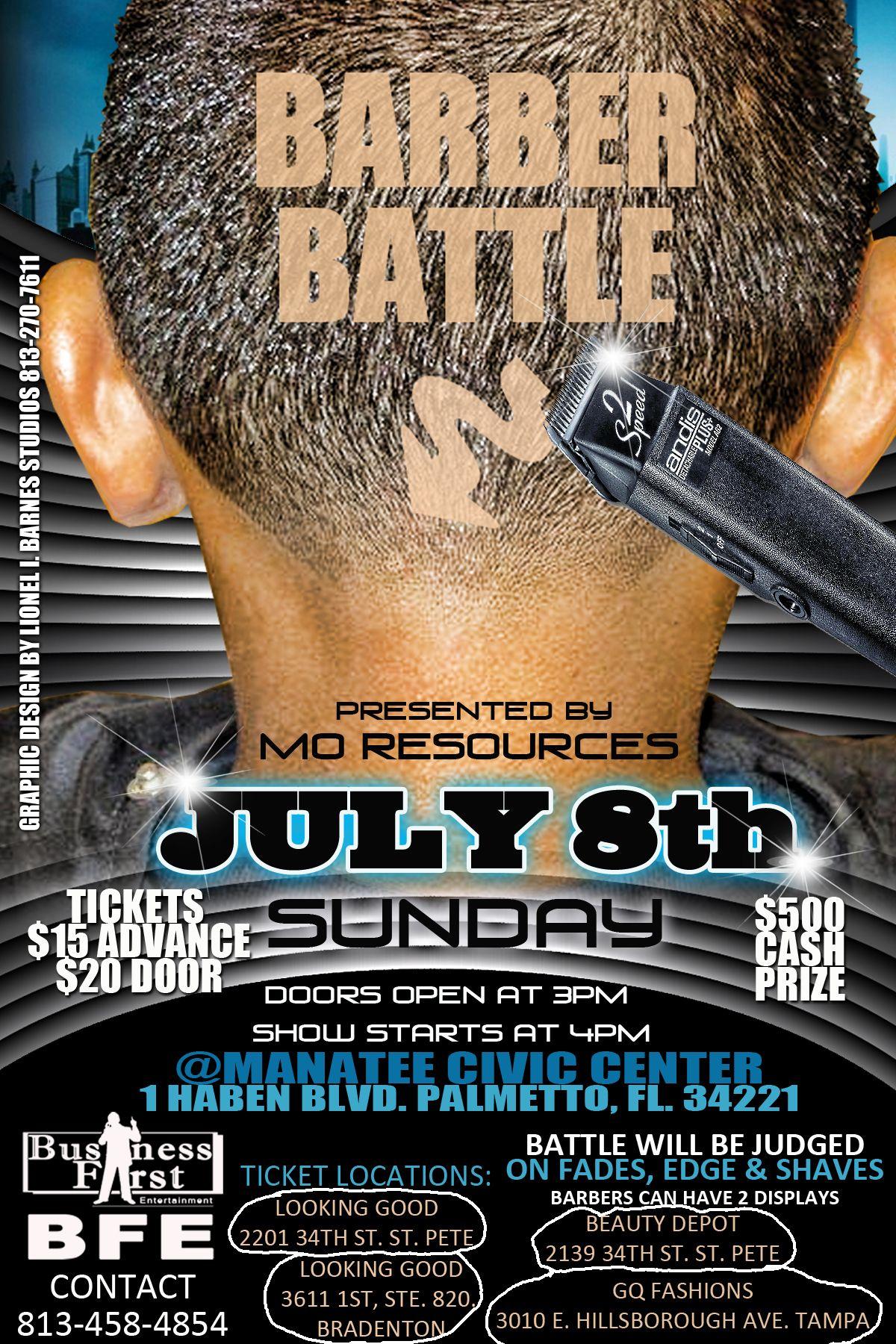 Barber Battle : barber battle this july 8th 2012 TES-Natural Hair Shows Pinterest