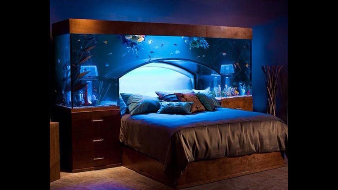 aquarium headboard h o m e pinterest