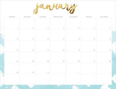 FREE 2017 Printable Calendars   календарь   Pinterest   Printable ...