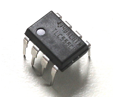 555 timer ic physical structure