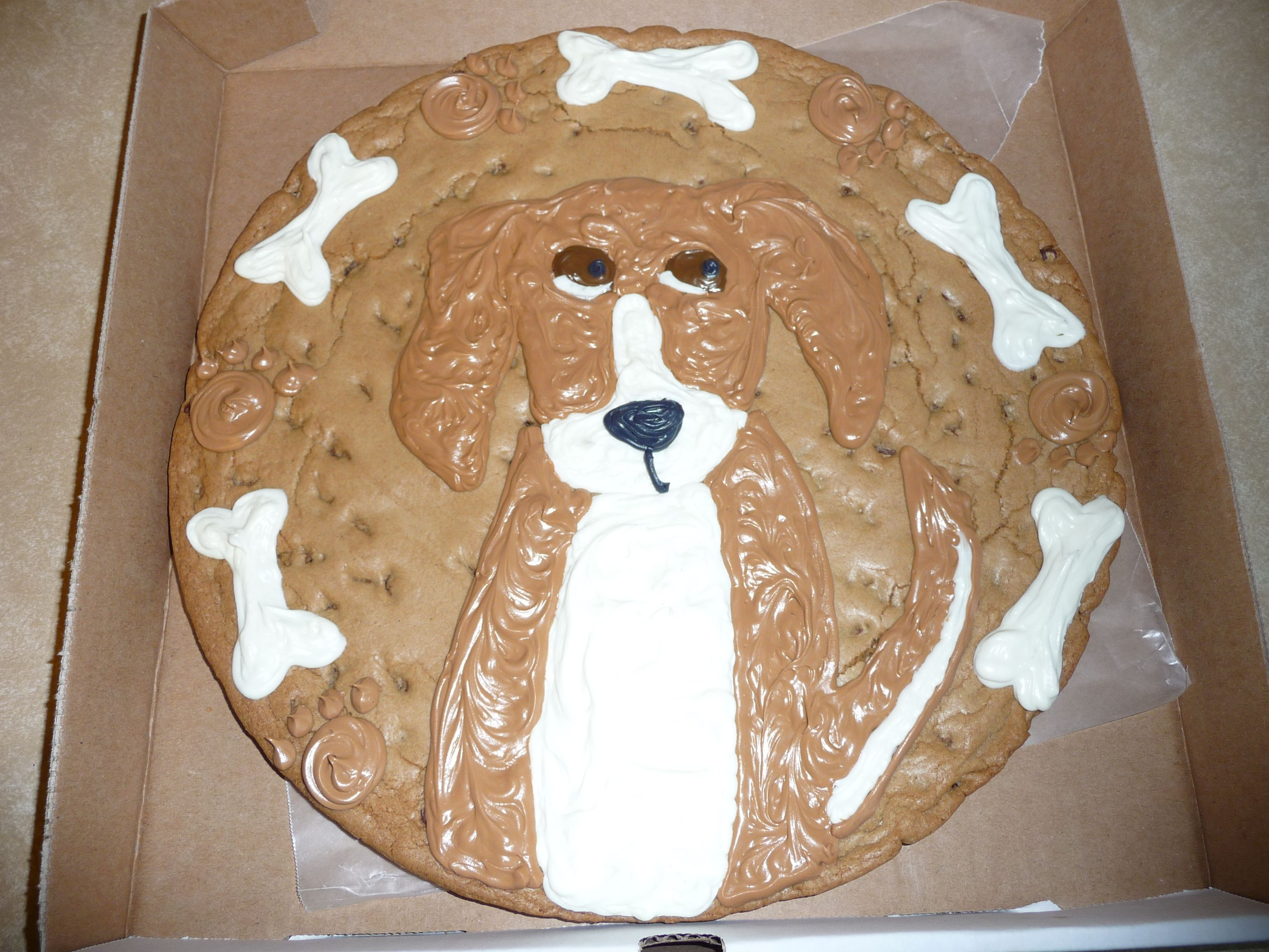 Edible Dog Cake Images : Pin Beagle Puppy Kitten Cat Dog Edible Birthday Party Cake ...